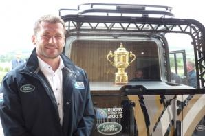 Rugby star Mark Cueto visits Broughton Hall